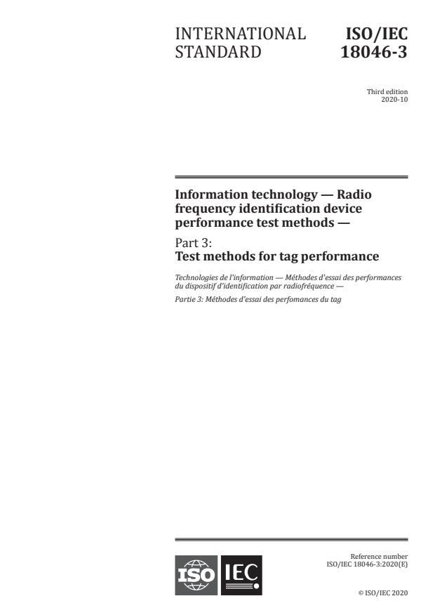 ISO/IEC 18046-3:2020