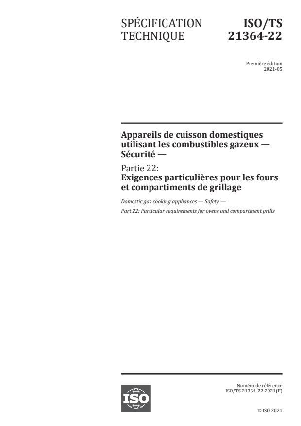 ISO/TS 21364-22:2021