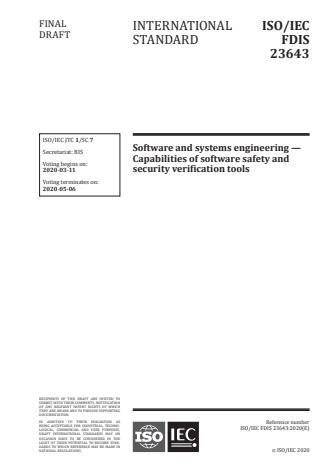 ISO/IEC 23643:2020
