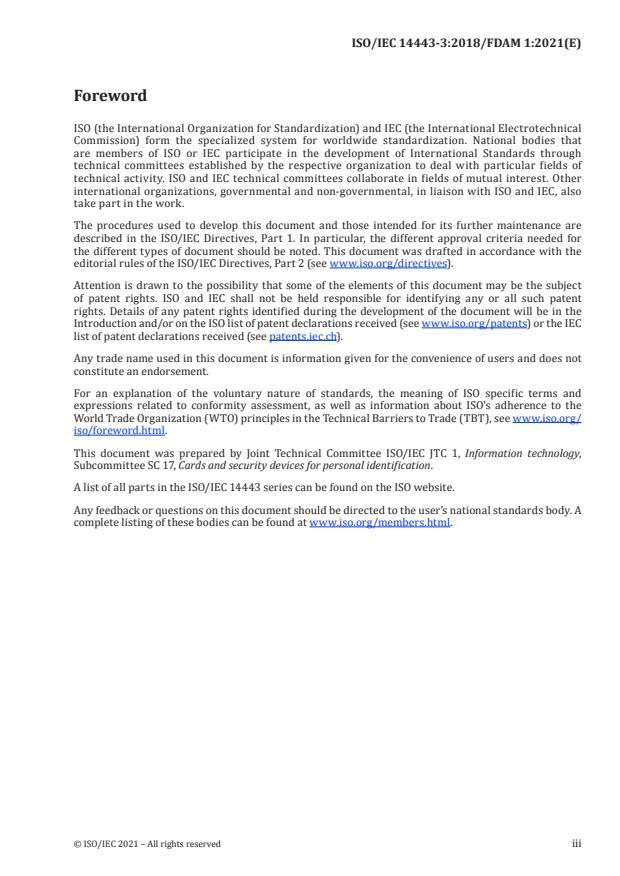 ISO/IEC 14443-3:2018/FDAmd 1:Version 12-feb-2021 - Dynamic power level management