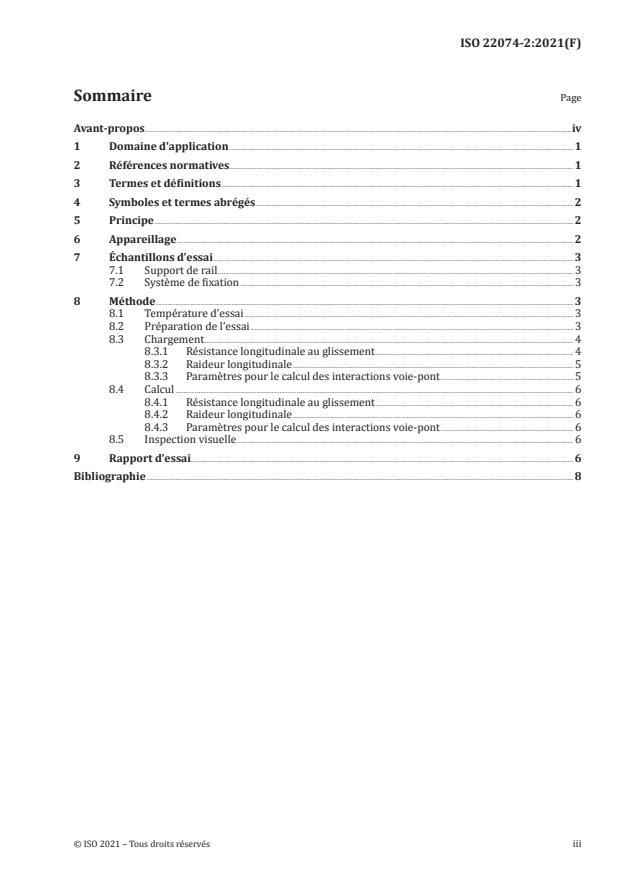 ISO 22074-2:2021 - Infrastructure ferroviaire -- Systèmes de fixation du rail
