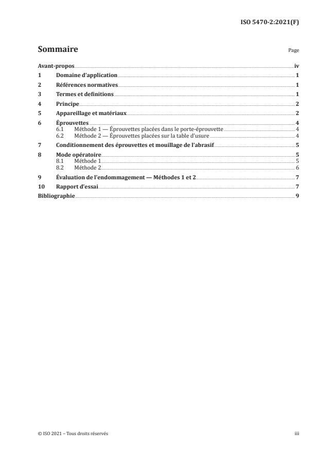 ISO 5470-2:2021 - Supports textiles revêtus de caoutchouc ou de plastique -- Détermination de la résistance à l'usure
