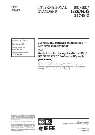 ISO/IEC/IEEE 24748-3:2020