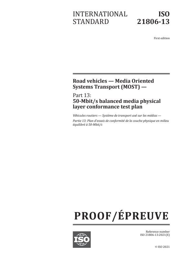 ISO/PRF 21806-13