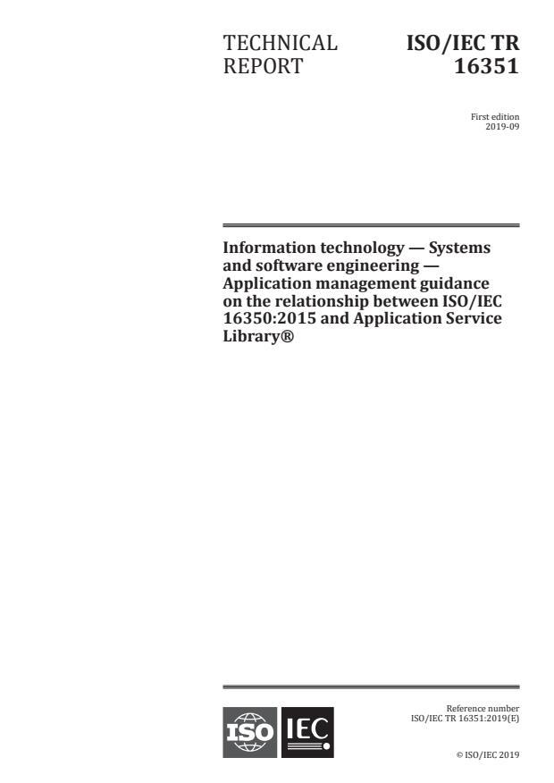 ISO/IEC TR 16351:2019