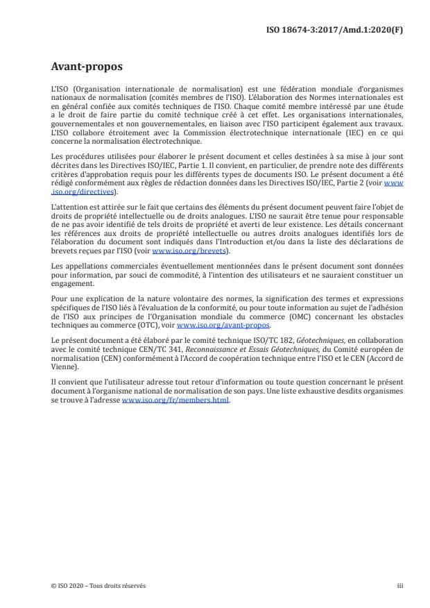 ISO 18674-3:2017/Amd 1:2020