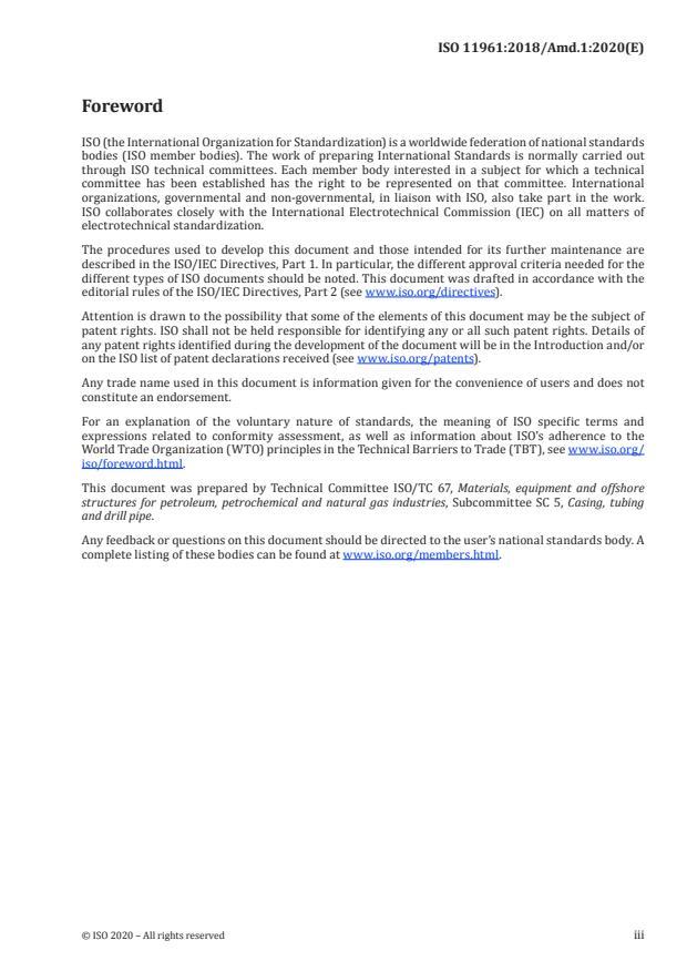 ISO 11961:2018/Amd 1:2020