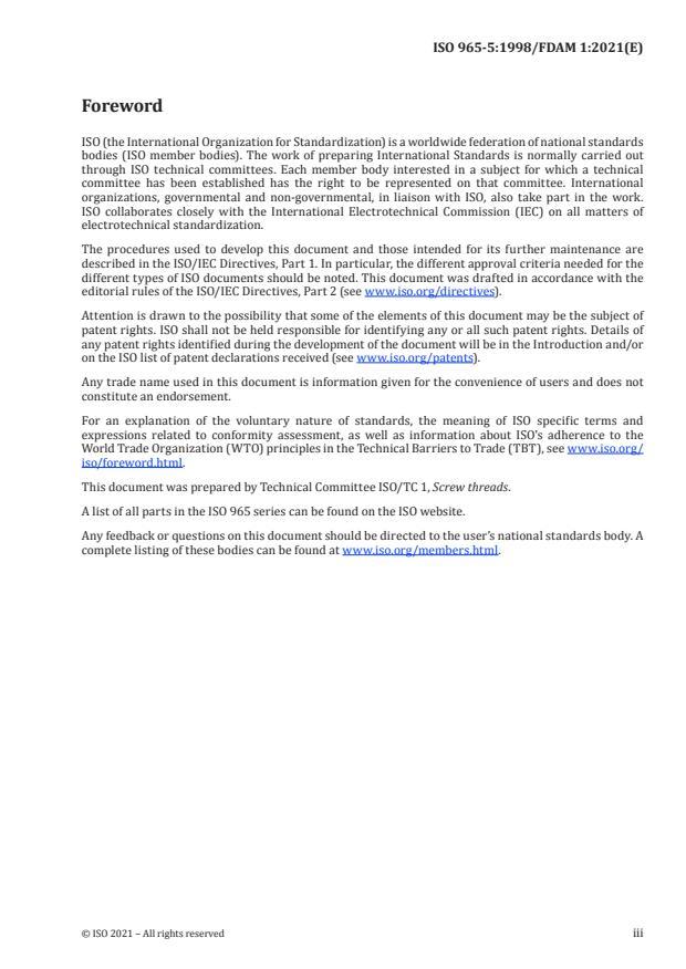 ISO 965-5:1998/FDAmd 1:Version 27-mar-2021