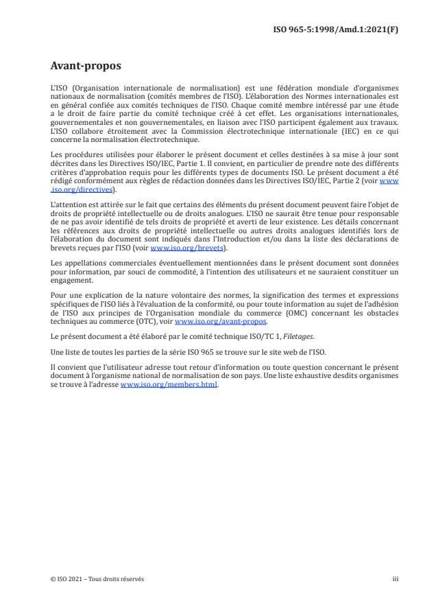 ISO 965-5:1998/Amd 1:2021