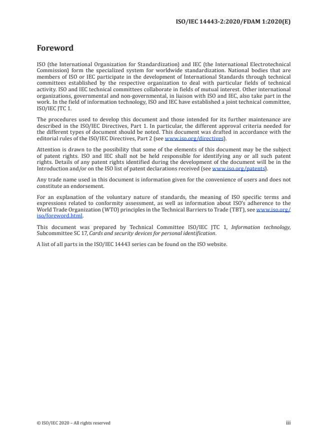 ISO/IEC 14443-2:2020/FDAmd 1:Version 26-dec-2020 - Dynamic power level management