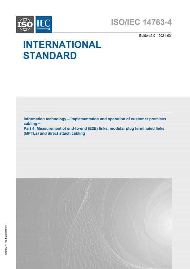 ISO/IEC 14763-4:2021