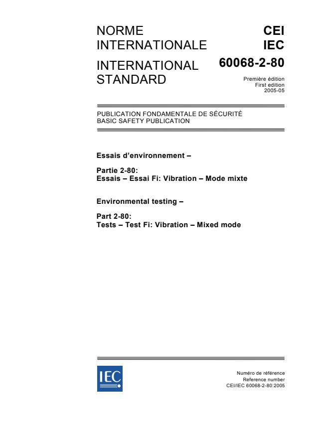 IEC 60068-2-80:2005